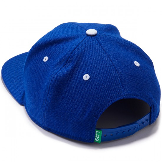 LRG Research Group Snapback Hat - Royal Blue