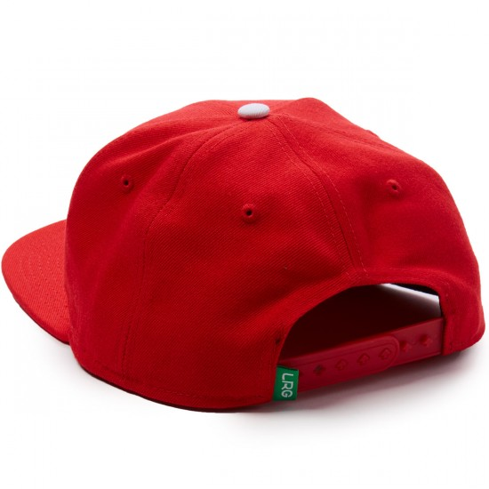LRG RC Snapback Hat - Red