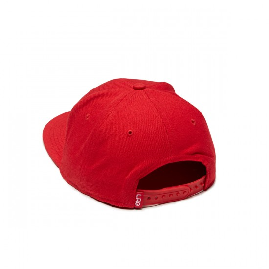LRG Research Group Snapback Hat - Red/Black