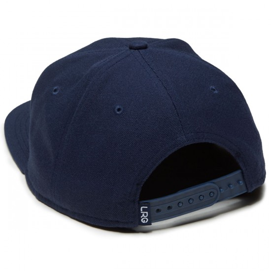 LRG RC Snapback Hat - Patriot Blue/Red