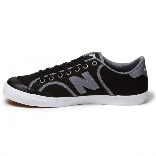 New Balance Pro Court 212 Shoes - Black Canvas/Suede - 8.0