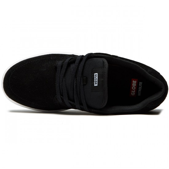 Globe Octave Shoes - Black/White - 8.0