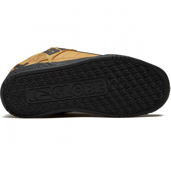 Globe Tilt Shoes - Wheat/Black/Winter - 8.0