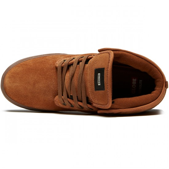 Globe Motley Mid Shoes - Brown/Tobacco