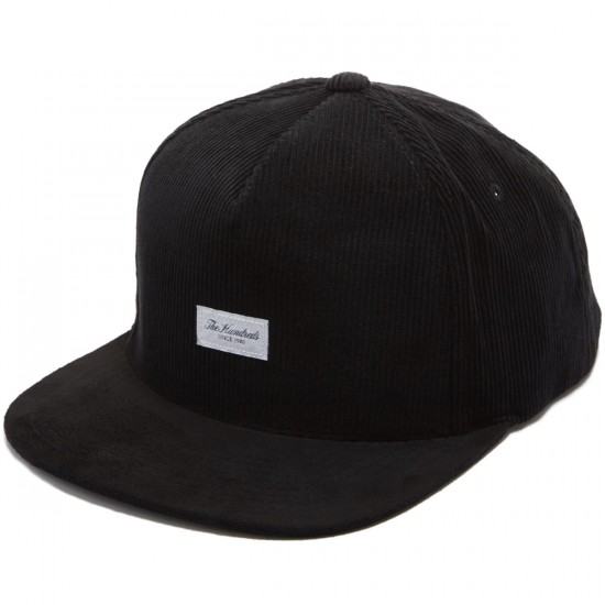 The Hundreds Cede Snapback Hat - Black