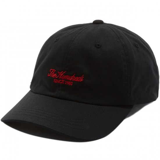 The Hundreds Rich Strapback Hat - Black