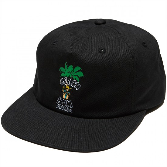 The Hundreds Bum Strapback Hat - Black