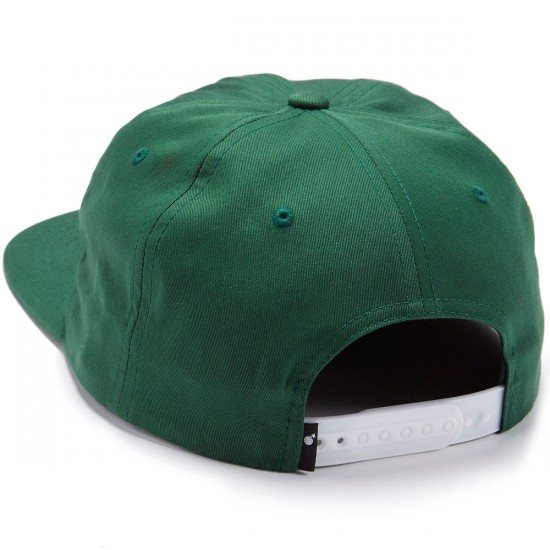 The Hundreds Script Snapback Hat - Bistro Green