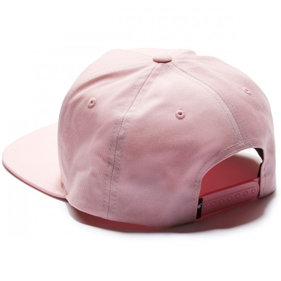 The Hundreds Script Snapback Hat - Pink