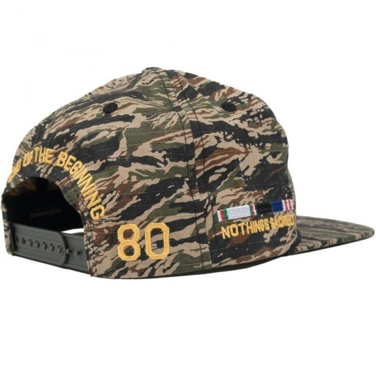 The Hundreds Canyon Snapback Hat - Camo