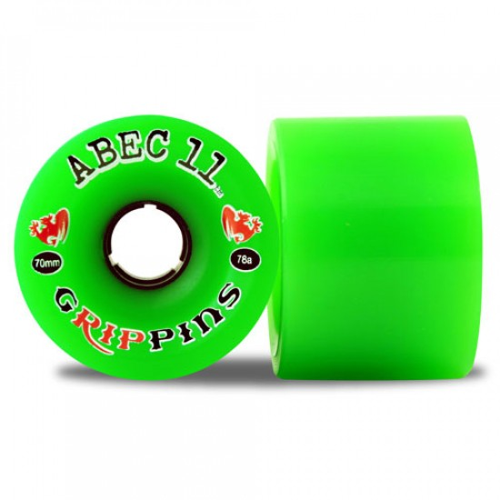 Abec11 Grippins Longboard Wheels 70mm