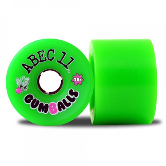 Abec11 Gumballs Longboard Wheels 76mm