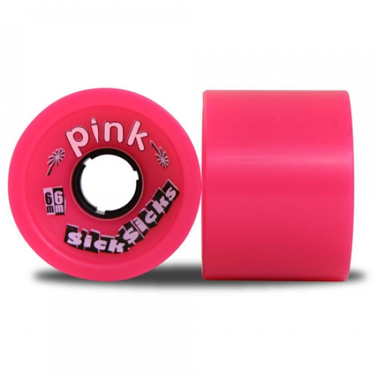 Abec11 Pink SickSicks Longboard Wheels 66mm 78a