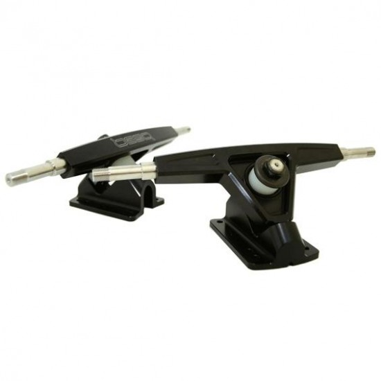Bear  Precision Grizzlies Longboard Trucks - 10mm Axle: 45 DEGREE BASEPLATE