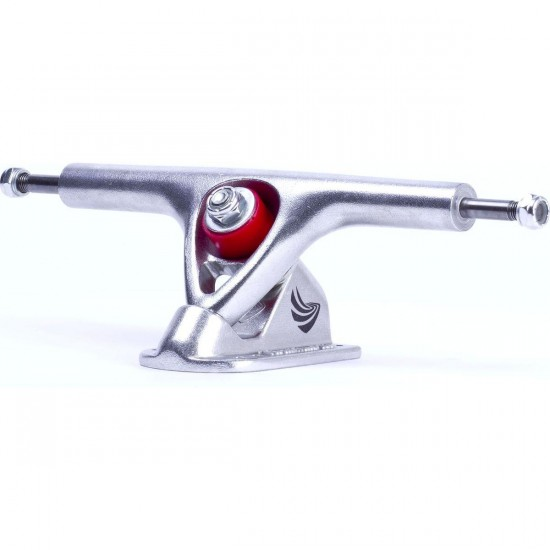 Paris 195mm Longboard Trucks - Silver