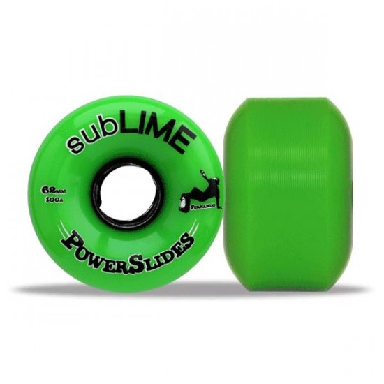 Sublime Powerslides Skateboard Wheels 62mm 100a