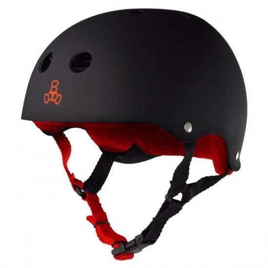 Triple Eight  Brainsaver Heed XXL Skateboard Helmet - Black