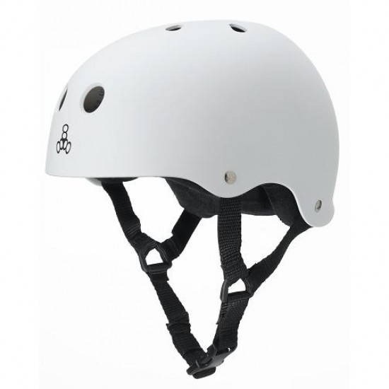 Triple Eight  Brainsaver Heed XXL Skateboard Helmet - White