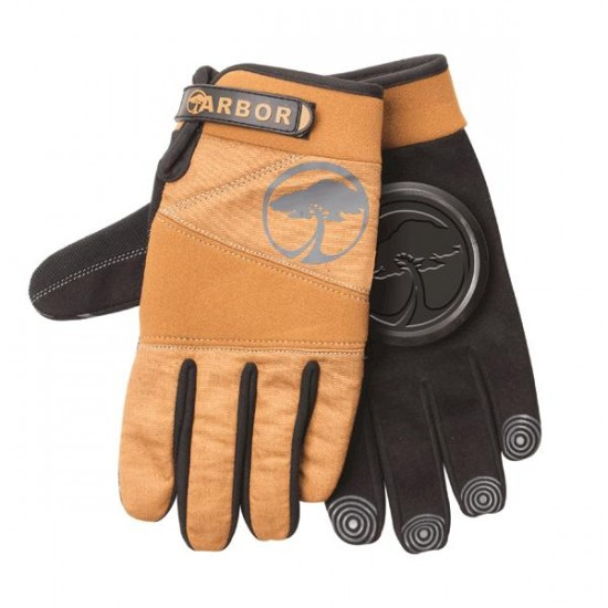 Arbor Signature Slide Gloves - Camel