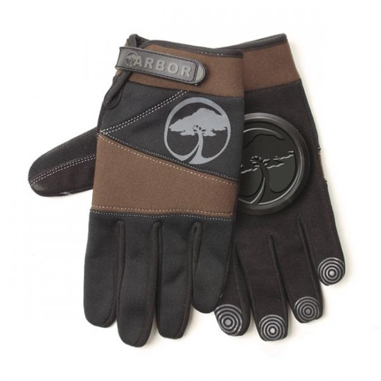 Arbor Signature Slide Gloves - Black/Olive