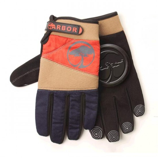Arbor Signature Slide Gloves - Khaki