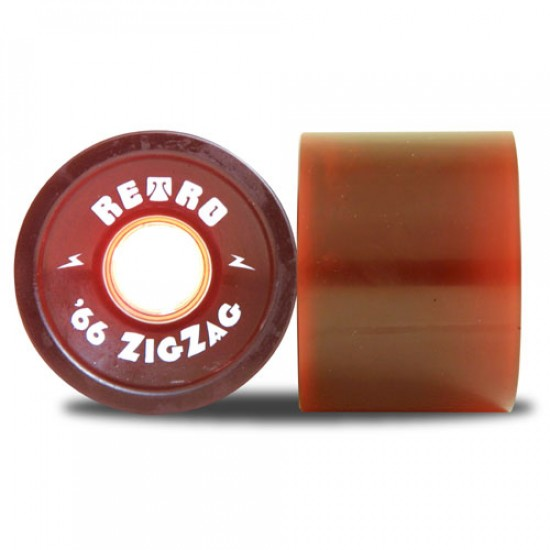 Abec11 Retro ZigZags  Longboard Wheels 66mm