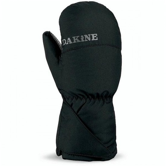 DaKine Kid's Scrambler Mitt Jr. 2013 - Black