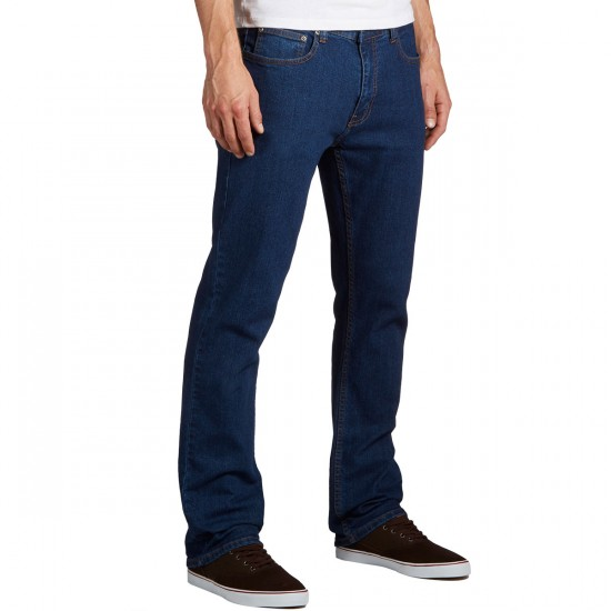 CCS Banks Slim Straight Fit Jeans - Dark Rinse - 29 - 32