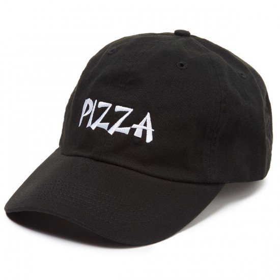 Pizza Thank You Pizza Delivery Boy Hat - Black