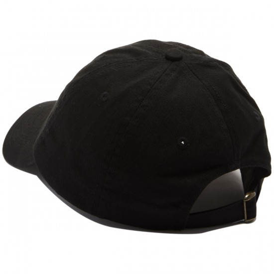 Lurk Hard Friends Polo Hat - Black