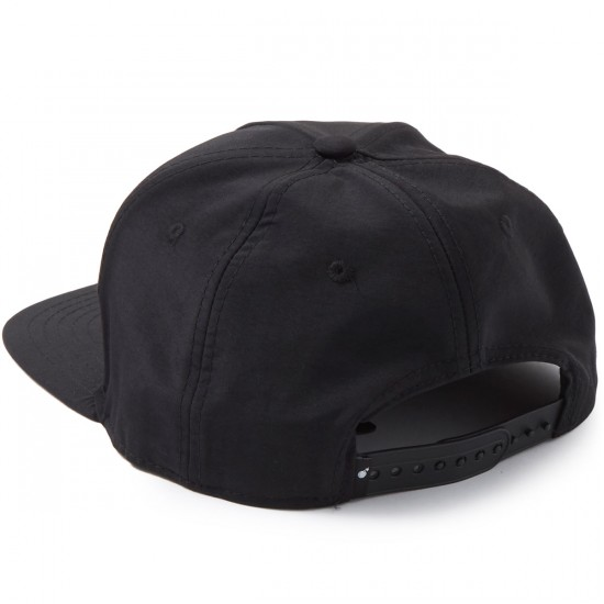 The Hundreds Earl Snapback Hat - Black