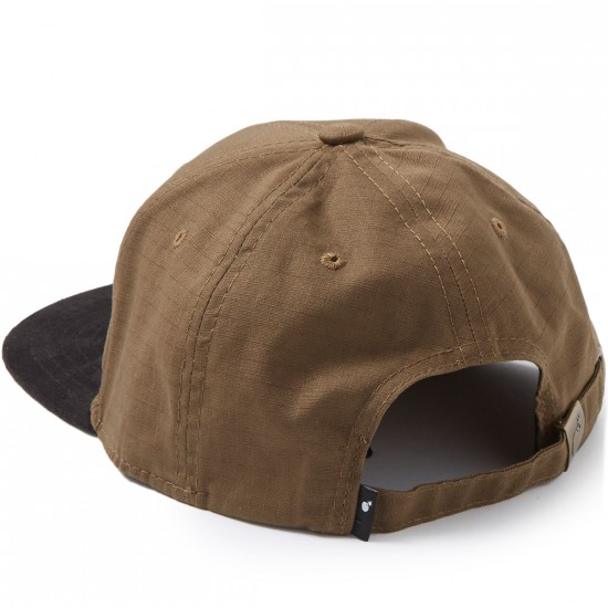 The Hundreds Fax Strapback Hat - Brown