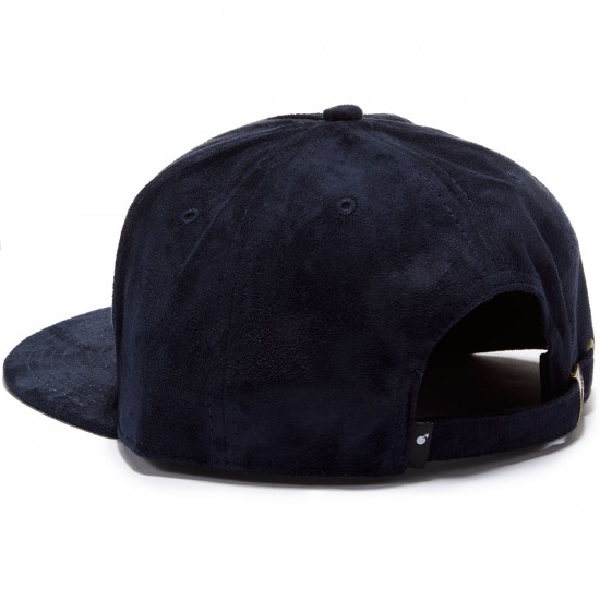 The Hundreds Ruge Strapback Hat - Navy