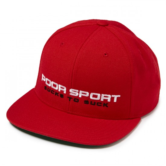 CLSC PS-89 Snapback Hat - Red