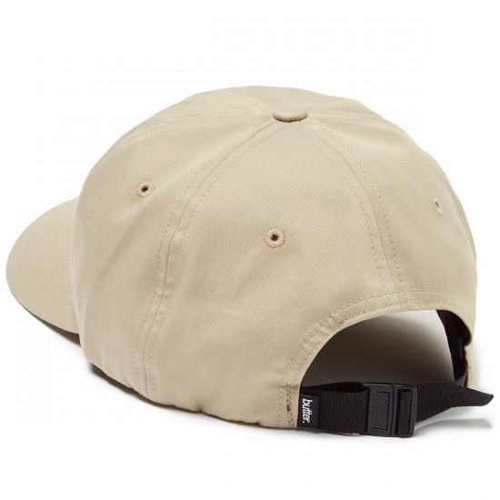 Butter Goods Rugged Terrain 6 Panel Hat - Khaki