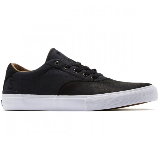 State Baxley Shoes - Black/White/Wax - 8.0