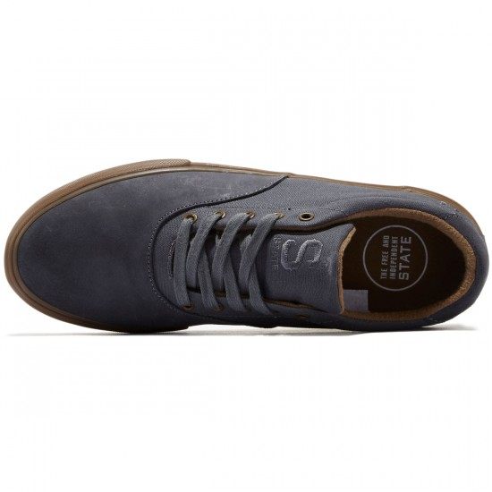 State Baxley Shoes - Pewter/Gum/Wax - 8.0