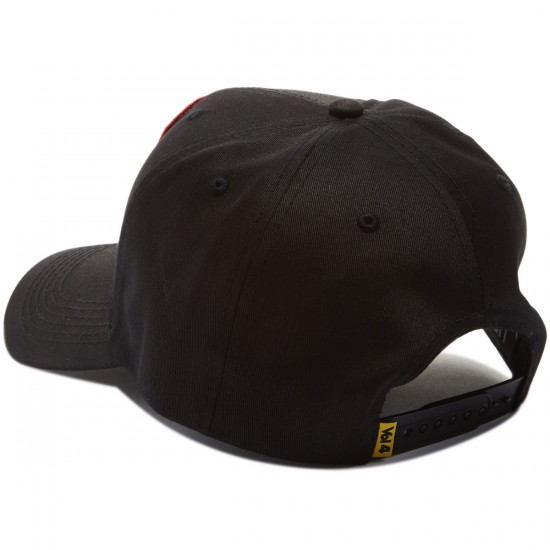 Volume 4 Pavement Artist Snapback Hat - Black