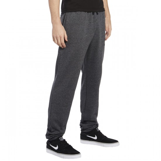 DGK International Fleece Pants - Black Heather - LG