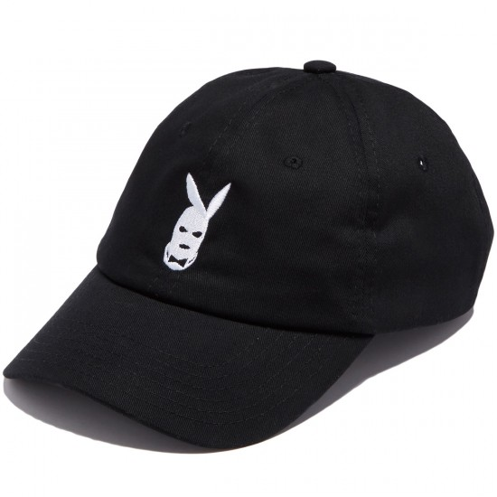 Gold Player Strapback Hat - Black