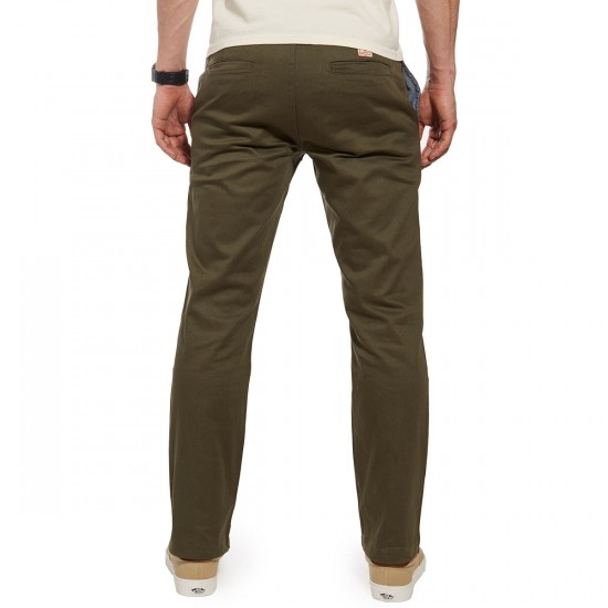 Expedition One Drifter Chino Pants - Forest Green - 28 - 32