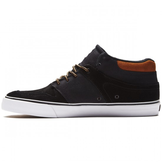 State Mercer Shoes - Black/Tan Suede/Canvas - 8.0
