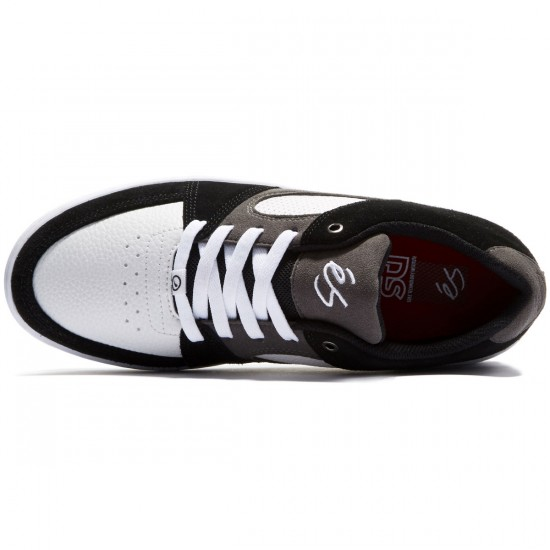 eS Accel Slim Shoes - Black/White/Grey - 10.0
