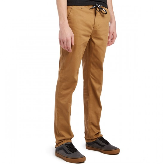DGK Street Chino Pants - Dark Khaki - 30 - 32