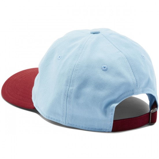 Welcome Basic Witch Unstructured 6-Panel Slider Hat - Blue/Red