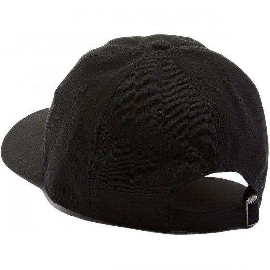 Welcome Basic Witch Unstructured 6-Panel Slider Hat - Black/Gold