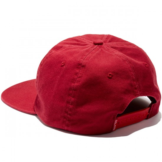 Dog Limited Dog Funnie Snapback Hat - Burgundy