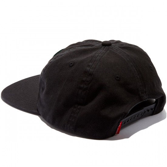 Dog Limited Dog Funnie Snapback Hat - Black