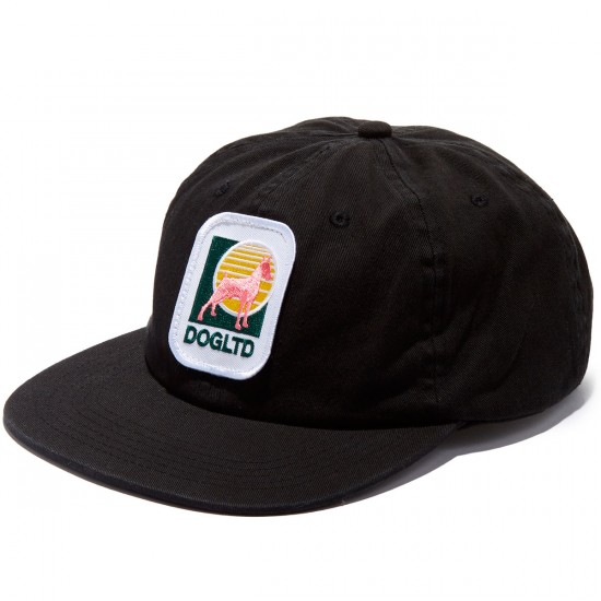 Dog Limited Lotto Snapback Hat - Black
