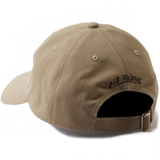 Old Friends Solo Board Dad Hat - Khaki